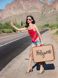 Hollywood Bound stock image
