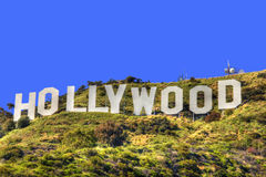 HOLLYWOOD CALIFORNIA Royalty Free Stock Photo