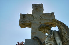 Hollywood Cemetery stock image