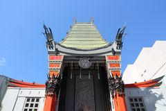 Hollywood Chinese Theatre Royalty Free Stock Photography