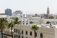 Hollywood city Royalty Free Stock Photos