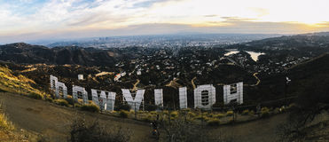 Hollywood at Daytime Royalty Free Stock Images