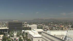 Hollywood e Los Angeles da baixa vídeos de arquivo