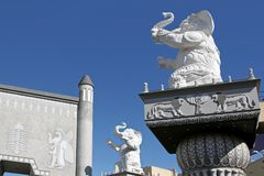 Hollywood Elephants Royalty Free Stock Photos