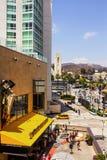 Hollywood en Hooglandcentrum royalty-vrije stock afbeelding