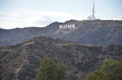 Hollywood en LA fotos de archivo