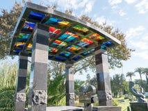 Hollywood för evigtkyrkogård - trädgård av legender royaltyfria foton