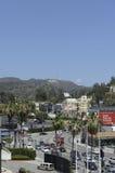 Hollywood firma adentro el califorinia de Los Ángeles Imagenes de archivo