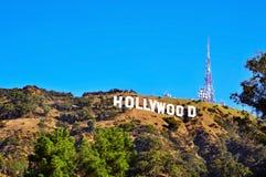 Hollywood firma adentro el montaje Lee, Los Ángeles Fotografía de archivo libre de regalías