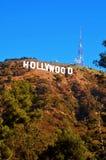 Hollywood firma adentro el montaje Lee, Los Ángeles Imagenes de archivo