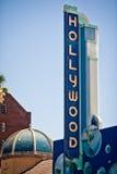 Hollywood firma adentro Los Ángeles Foto de archivo libre de regalías