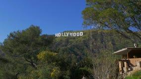 Hollywood firma 18 marzo 2019 dentro le colline di Hollywood - California, S.U.A. - video d archivio