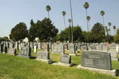 Hollywood Forever Cemetery Royalty Free Stock Images