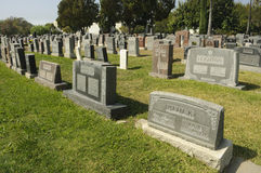 Hollywood Forever Cemetery Stock Photos