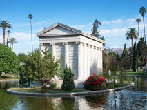 Hollywood Forever Cemetery - Garden of Legends royalty free stock image