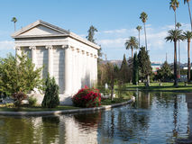 Hollywood Forever Cemetery - Garden of Legends Stock Photography