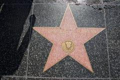 Hollywood går av berömmelse Charlie Chaplin arkivbild