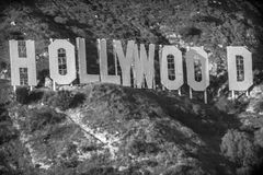 Hollywood - the golden old days stock photography