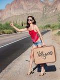 Hollywood-Grenze stockbild