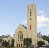 Hollywood ha unito la chiesa metodista Immagini Stock
