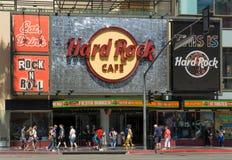 Hollywood Hard Rock Cafe Royalty Free Stock Photography