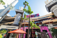 Hollywood & Highland mall in Los Angeles, California Royalty Free Stock Photos