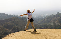 Hollywood hill Stock Photography