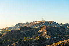 Hollywood hill Royalty Free Stock Image