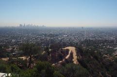 Hollywood Hills royaltyfria foton