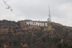 Hollywood Hills royaltyfri bild