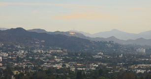 Hollywood Hills Foto de Stock Royalty Free