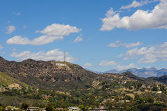 Hollywood hills Royalty Free Stock Photography