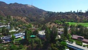 Hollywood Hills Califórnia vídeos de arquivo