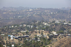 Hollywood Hills la Californie Image stock