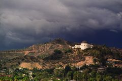 Hollywood hills Stock Photography