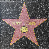 Singer and songwriter Kenny Loggins' star on Hollywood Walk of Fame Royalty Free Stock Image