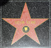 Kevin Klines star on Hollywood Walk of Fame Stock Images