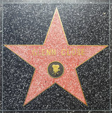 Liza Minnellis star on Hollywood Walk of Fame Royalty Free Stock Photo