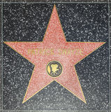 Patrick Swayzes star on Hollywood Walk of Fame Royalty Free Stock Photo