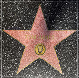 Actor Tom Hanks star on Hollywood Walk of Fame Royalty Free Stock Photography