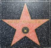 Den Kiefer Sutherlands stjärnan på Hollywood går av berömmelse Arkivbild
