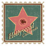 Hollywood - Kalifornien royaltyfri illustrationer
