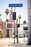 Hollywood kennzeichnen innen Los Angeles lizenzfreie stockfotografie
