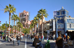 Hollywood-Kontrollturm-Hotel in der Disney-Welt Lizenzfreie Stockfotografie