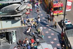 Hollywood LA royaltyfri fotografi