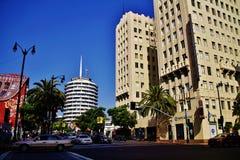 America Los Angeles,HOLLYWOOD LANDMARK Royalty Free Stock Images