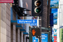 Hollywood Los Angeles arkivbild