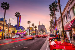 Hollywood, Los Angeles Imagem de Stock Royalty Free