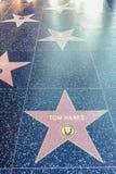 Hollywood/Los Angeles/California/USA - 07 19 2013: Estrela de Tom Hanks Imagens de Stock
