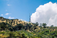 Hollywood. Los Angeles, Hollywood Hills, California Royalty Free Stock Photography